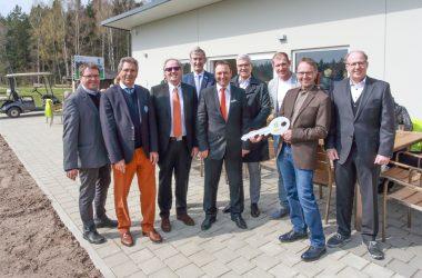 Neues schmuckes Vereinsheim eingeweiht