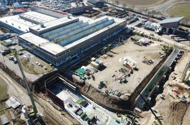 Neubau Produktionshalle: MAPAL / Altenstadt