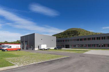 Firma Stöbich Brandschutz in Bopfingen: Neubau Bürogebäude und Lagerhalle