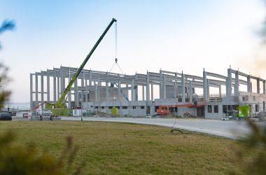 Neubau eines Lackierzentrums mit Parkplätzen und Außenanlagen: Ott / Öpfingen